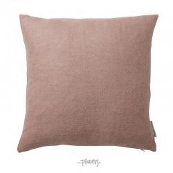Pudebetræk - 100% alpaca rosa 40x40cm