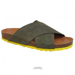 Annet sandal - army-gul