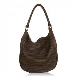Skulder taske læder - brun