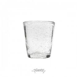 Vandglas klar m/bobler