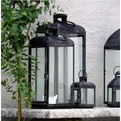 Cozy Room Lanterne - Grå jern
