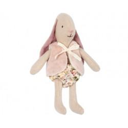 Maileg - Micro kanin m/rosa vest