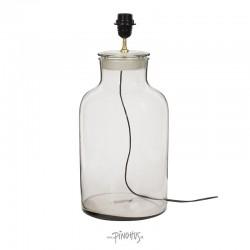 Bordlampe i glas H48cm