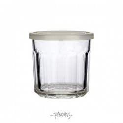 Opbevaringsglas m/låg