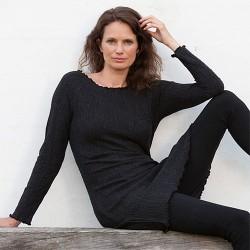 Gorridsen Design - Fortuna strik-kjole grå