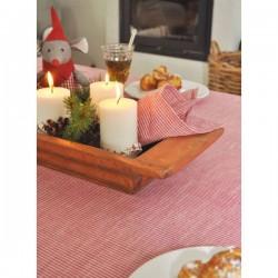 Juledug - Rød strib