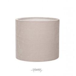 Silk Velour lampeskærm - lys grå