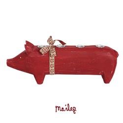 Maileg - Trægris Advent - Rød