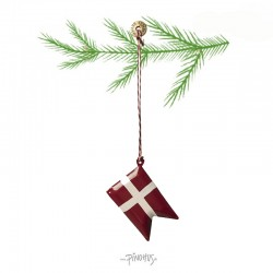 Maileg - Oph. metal flag 5 cm