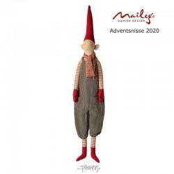 Maileg Jul - Advent kalender nisse dreng