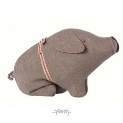 Maileg - Hør gris grå 23cm