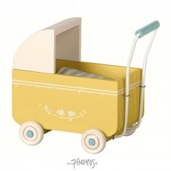 Maileg - MY barnevogn gul