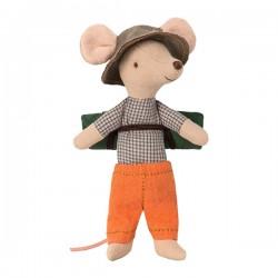 Maileg - Hiker mus dreng