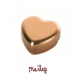 Maileg - Hjerte æske i guld