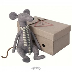 Maileg - Mr. Cool rat blue