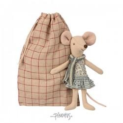 Maileg mus - storesøster i pose