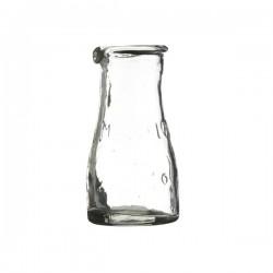 Mælkeflaske i glas 10cm