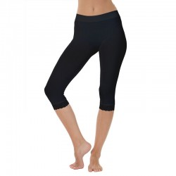 Microfiber leggings m/blonde sort