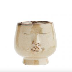 Urtepotte keramik - face