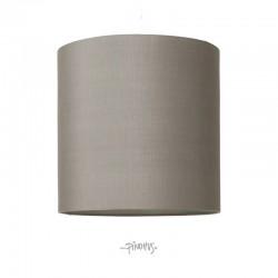 Silke lampeskærm - grå
