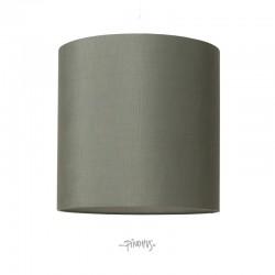 Silke lampeskærm - Petrol