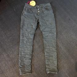 Place du Jour Jeans - mørk grå