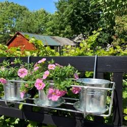 Plint - Galvaniseret planteophæng