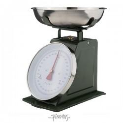 Køkkenvægt - Mørkegrøn