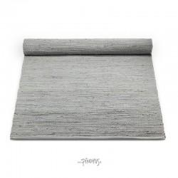 Kludetæppe bomuld - Lysgrå