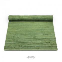 Kludetæppe bomuld - Olive green