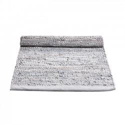 Læder Gulvtæppe - Limestone