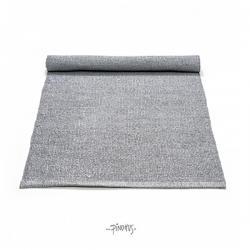 Plastik gulvtæppe - Lys grå