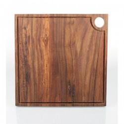 Kvadratisk skærebræt m/kant 35cm