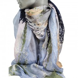 Aperitif silke tørklæde - Champus