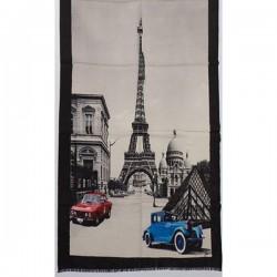 Tørklæde uld/cashmere - Paris sand