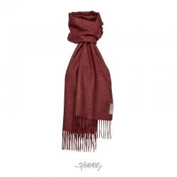Halstørklæde - Baby alpaca Bordeaux