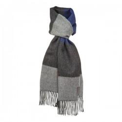 Halstørklæde - Baby alpaca bred strib