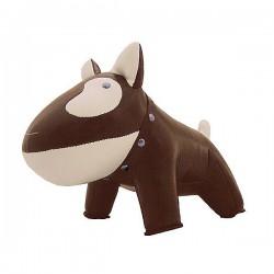 Dørstop Züny Bull terrier brun