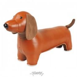 Dørstop Züny Gravhund brun
