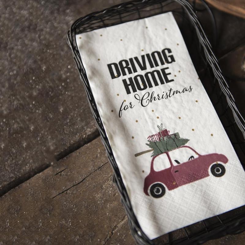 Ib Laursen - Serviet Driving home for christmas