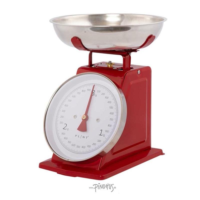 Plint Køkkenvægt - Rød